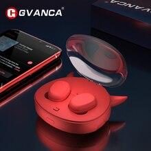GVANCA i 10 TWS Fingerprint Touch 5,0 Bluetooth Kopfhörer Drahtlose Kopfhörer HD Stereo Ohrhörer Smart Noise Cancelling kopfhörer