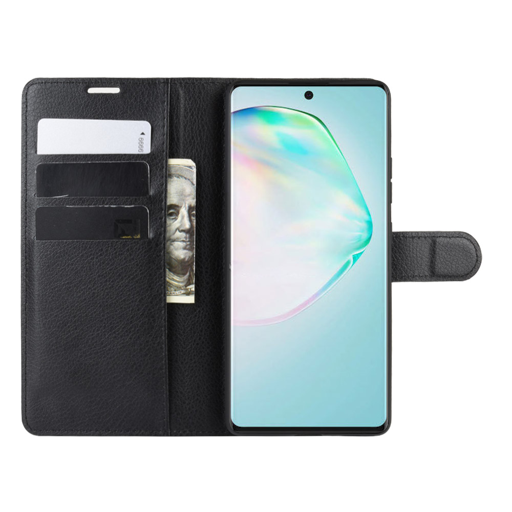 Case For Samsung Galaxy S10lite SM-G770F 6.7In Cover Wallet Card Stent Book Style Flip Leather Protect Black Mini S10 Lite