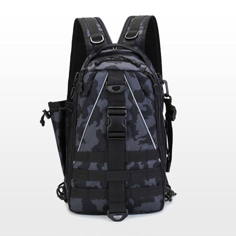 Многофункциональная сумка для рыболовных снастей, спортивная сумка для охоты на открытом воздухе, рыболовная приманка на одно плечо, военн...