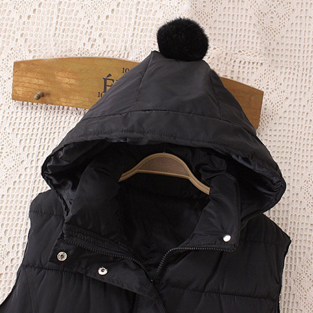 Women's Warm Vest Жилетка Женская Fashion Womens Plus Size Hoodie Waistcoat Vest Gilet Jacket Coat Outwear Жилет Женский 4