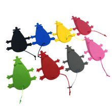 1Pcs Mouse Shape Silicone Door Stopper Creative baby safety