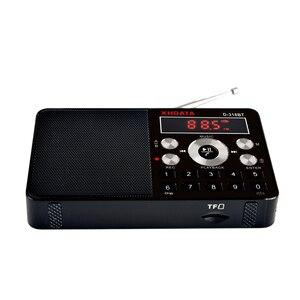Image 4 - XHDATA D 318BT mini lecteur mp3 radio stéréo fm écran portable peut prendre en charge lenregistrement MP3 répétition fonction haut parleur avec carte TF