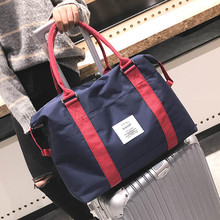 Travel Abroad Boarding Bag Large Capacity Clothes Storage Bag Women Luggage Shoulder Bag Waterproof Men Trolley Case Travel Bag free shipping new arrival large capacity vintage the trend of trolley luggage waterproof bag travel bag plaid pu boarding bags