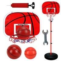 Adjustable Basketball Stand Basket Holder Hoop Goal Outdoor Fun Sports Activity Game Mini Indoor Child Kids Boys Toys Sport