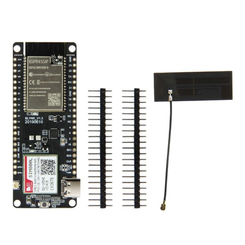 Hot TTGO T-Call V1.3 ESP32 Wireless Module GPRS Antenna SIM Card SIM800L Module ESP32-WROVER-B 2.4GHz SIM800L Development Board