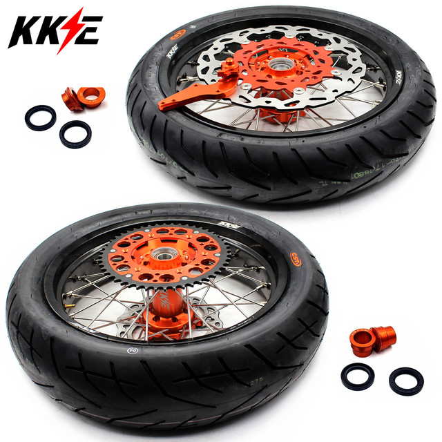 Supermoto CST Tires Wheels Set  1