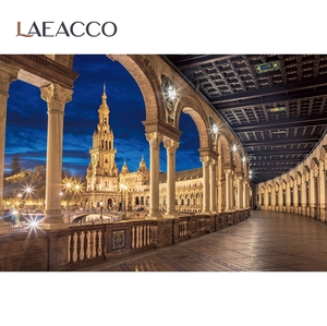 Image 5 - Laeacco خلفية للتصوير الفوتوغرافي لاستوديوهات الصور ، خلفية رائعة للقصر الملكي ، السلالم ، للتصوير الفوتوغرافي