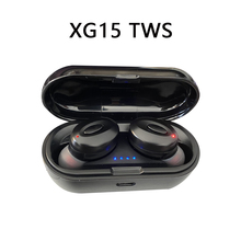 XG15 TWS Bluetooth Headset 5.0 Stereo Wireless Earbud Binaural Call Mini Earphone Android Phone Ture Wireless Stereo s650 portable mini wireless stereo bluetooth 4 1 sports earphone in ear earbud mini ture wireless sports headset for phone