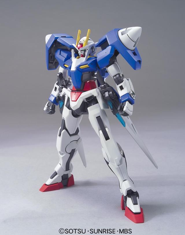 HG 1:144 GN-0000 22 Double 0 Up To Assembly Model Gundam GUNDAN