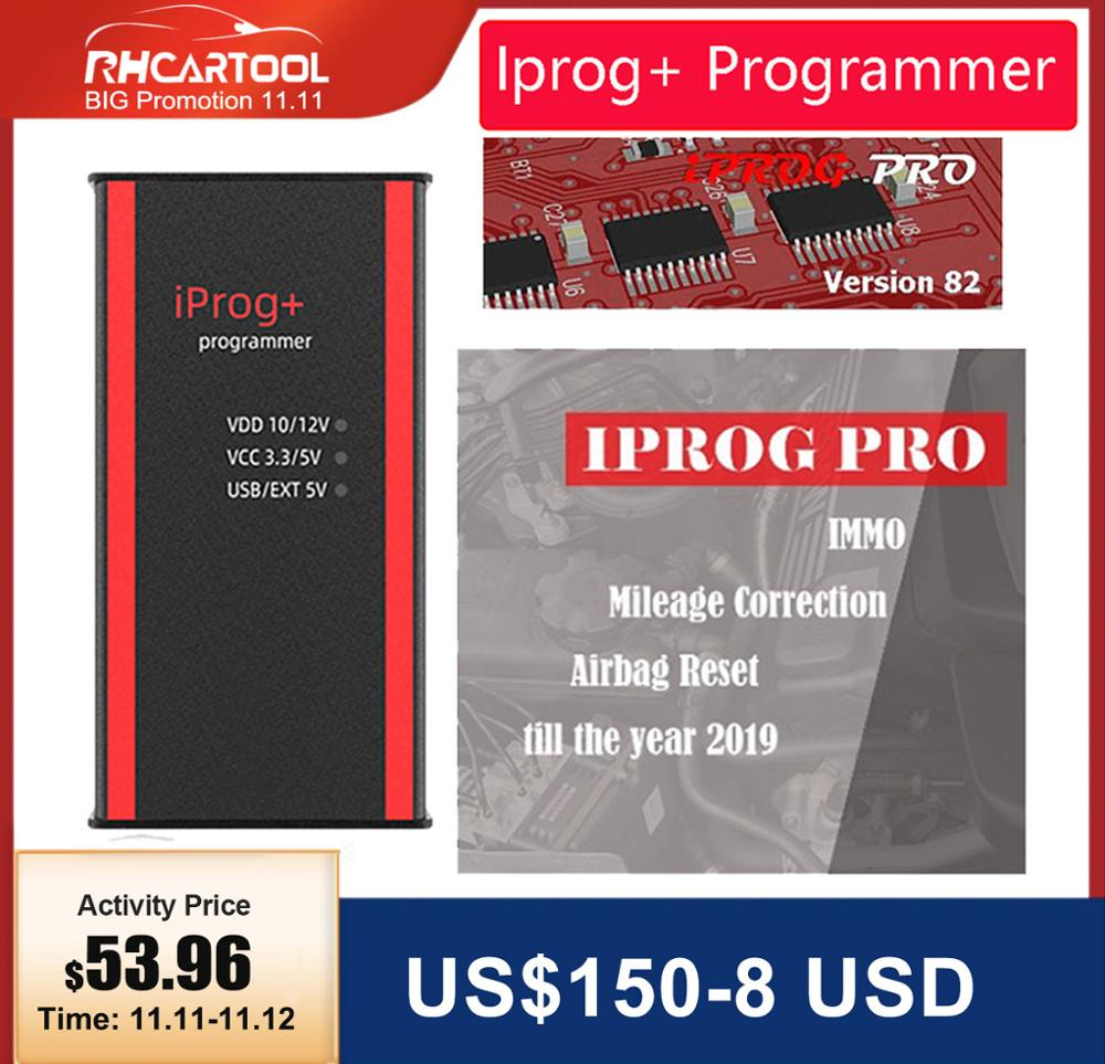 Car Iprog  V84 Programmer Support IMMO   Mileage Correction   Airbag Reset Iprog Pro Till 2019 Replace Carprog Digiprog Tango