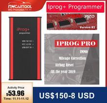 مبرمج Iprog + V84 للسيارة يدعم IMMO + تصحيح الأميال + إعادة ضبط الوسادة الهوائية Iprog Pro حتى 2019 استبدال Carprog/Digiprog/Tango