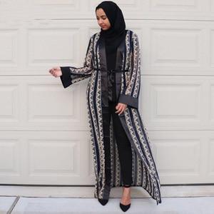 Open Abaya Dubai Cardigan Muslim Hijab Dress Bangladesh Islam Abayas For Women Caftan Eid Jilbab Kaftan Turkish Islamic Clothing