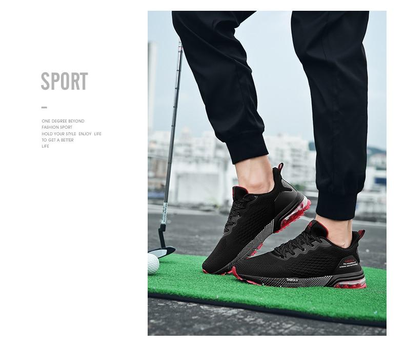 golfe ao ar livre anti deslizamento sapatos