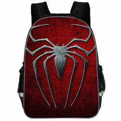 13 Cal plecak dla dzieci nadruk w pająki pajęczyna plecak szkolny dla dzieci chłopiec ortopedyczny plecak dla dzieci plecak Mochila