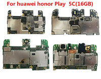 Trabalho completo 100% original unlockedfor huawei honor play 5c NEM-AL10 16 gb placa-mãe para huawei honor 5c NEM-AL10 16 gb