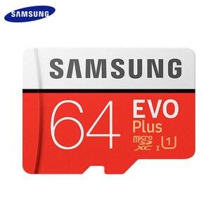 Image 2 - SAMSUNG EVO PLUS Memory Card 256GB High Speed 100 MB/S Micro SD Class 10 U3 TF Cards UHS I 128G 64GB 32GB Micro SD Card