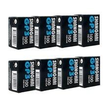 Etone 8 rolls shanghai preto & branco b/w gp3 135 35mm filme negativo iso 100 original