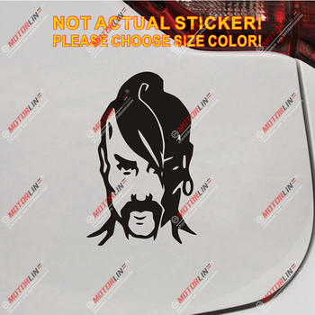 Cossack Head Ukraine Ukrainian Decal Sticker Car Vinyl pick size color a image