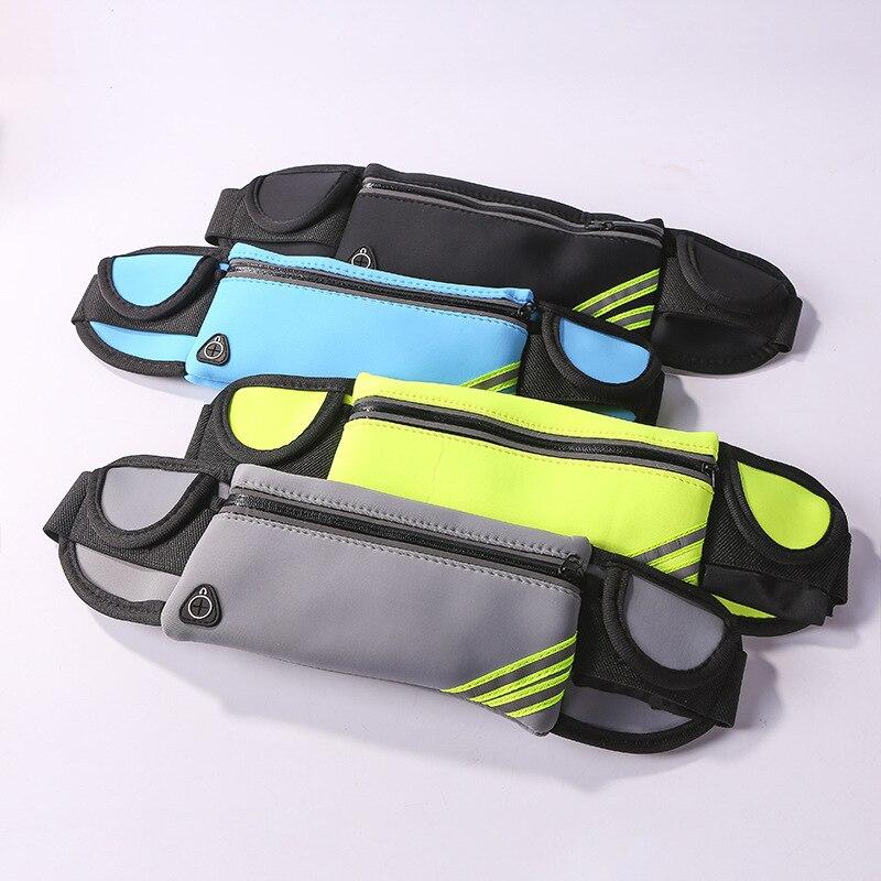 Outdoor Running Travel Sports Waist Pack 4-to 6-Inch Phone Bag Waterproof Body Hugging Multi-functional Men And Women Sports Wai