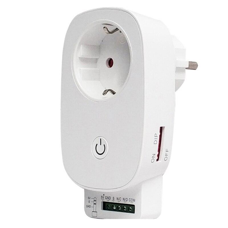 Wifi Garage Door Opener Remote Control Switch Work With Tuya IFTT Smart Life App Alexa Google Home Roller Sensor Automation EU P
