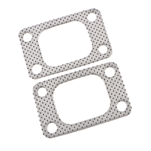 ALUMINUM TURBO CHARGER INLET MANIFOLD FLANGE DOWN PIPE GASKET FOR T38 GT35