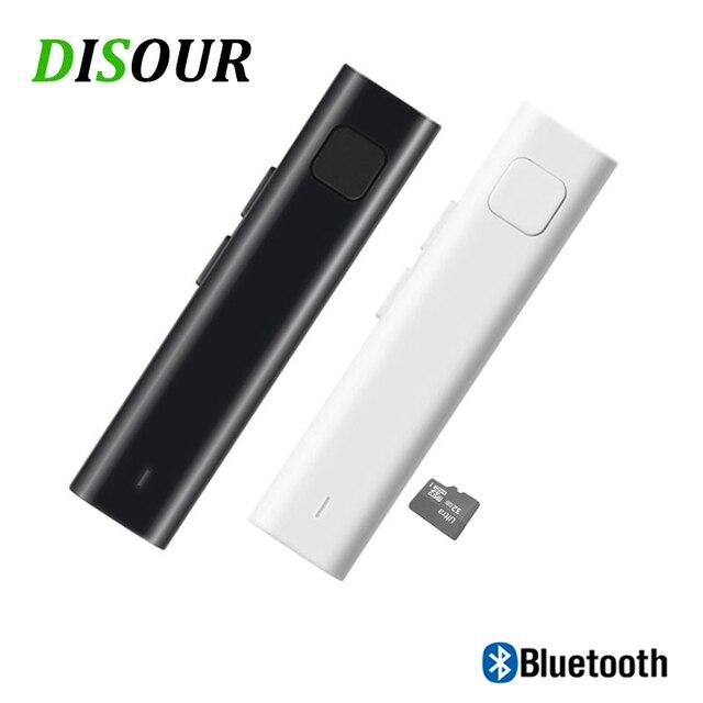 Receptor Bluetooth con traducción, adaptador inalámbrico de entrada para Audio estéreo de 3,5mm, compatible con tarjeta TF, AUX, Kit de coche para auriculares Spkeaker