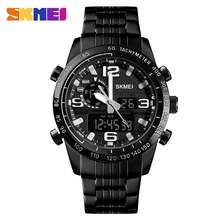 Часы наручные skmei Мужские кварцевые в стиле милитари роскошные