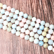 Hot Sale Natural Stone Morgan Stone Beads 15.5 Pick Size: 4 6 8 10 mm fit Diy Charms Beads Jewelry Making Accessories