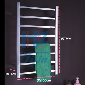 Image 5 - Porte serviettes chauffant électrique
