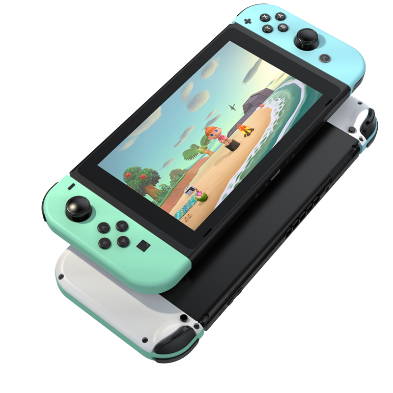 Animal Crossing for Switch joycon shell Full set with color button for Nintend Switch NS Controller JoyCon console switch shell