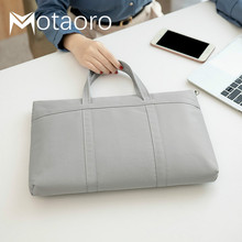 Maletín a la moda para mujer, bolsa de viaje para oficina, bolso de mano para libro femenino, maletines para ordenador portátil de 14 pulgadas, bolsas de documentos neutras A4, 2020