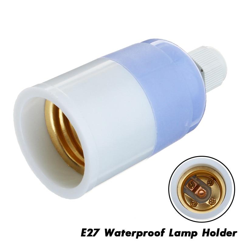 1Pcs E27 Waterproof LED Lamp Bases Led Lighting Accessories Led Lamp Holder Adapter Converter Socket Change Screw Socket