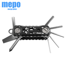 Universal Folding Multi Tool for DSLR Camera Cage Allen Wrenches Slotted Screwdriver Phillips Screwdriver Pocket Sized Tool Set