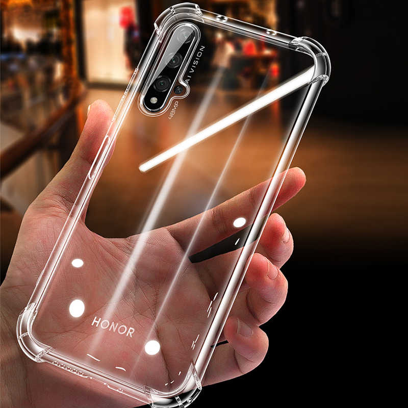 Anti-Shock Airbag Case For Huawei Nova 5 5i Pro Honor 20 Pro 10i 20i 8C 8X 8A P30 P20 Lite 2019 Mate 30 20 Pro Shockproof Cover