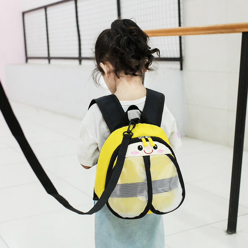 New Style Children's Bags 3D Cartoon Stereo Anti Lost School Bag Kindergarten Small Bee Backpack Men And Women Children Backpack