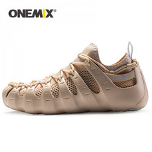 Sports-Shoes ONEMIX Walking-Sneakers Casual Original Brand Men for Light Jogging Travel-Socks