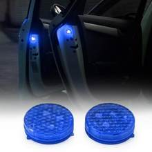 2pcs Car Door Warning Light LED Flash Light Strobe Light Rearing Warning Light Anti Collision Car Door Light Car-Styling(China)