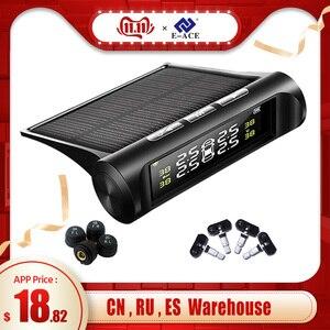E-ACE Solar Power TPMS Car Tir