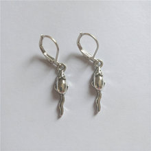 Mouse lever back earring funny dangle earrings halloween jewelry
