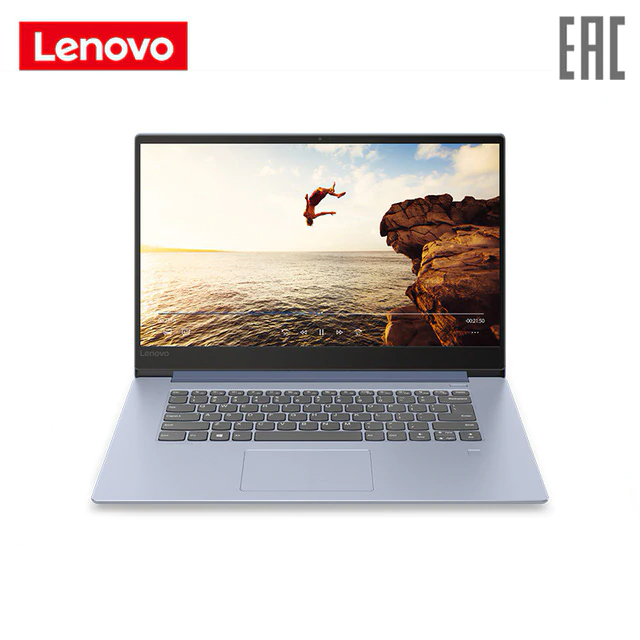 "Laptop Lenovo IdeaPad 530S-15IKB 15.6 ""FHD Core I3-8130U/8 GB/128 GB SSD WINDOWS10 GTX1060/noODD/ WiFi/BT/FPR/Win10/Liquid Blue (81EV00ELRU)"