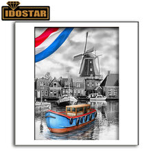 Алмазная живопись «сделай сам» живописная 5d Мозаика из голландских