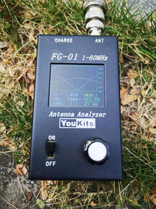 PAC-12 7 МГц-50 МГц 100 Вт Многодиапазонная HF Коротковолновая GP антенна QRP для радиостанции Ham