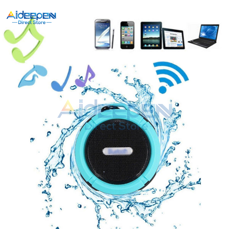 Portable Waterproof Bluetooth Speaker Outdoor Wireless Mini Loudspeaker 3D Stereo Music Surround Support TF-Card Bass Box image