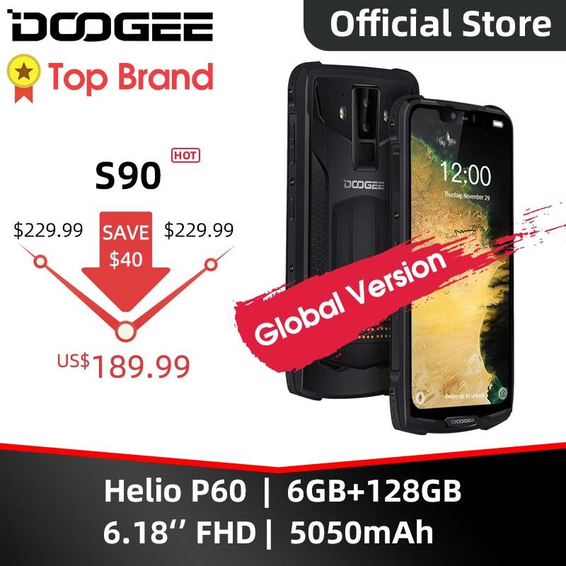 IP68/IP69K (Outdoor BOX) DOOGEE S90 Super Modular Rugged Mobile Phone 6.18inch Display 5050mAh Helio P60 Octa Core 6GB 128GB(China)