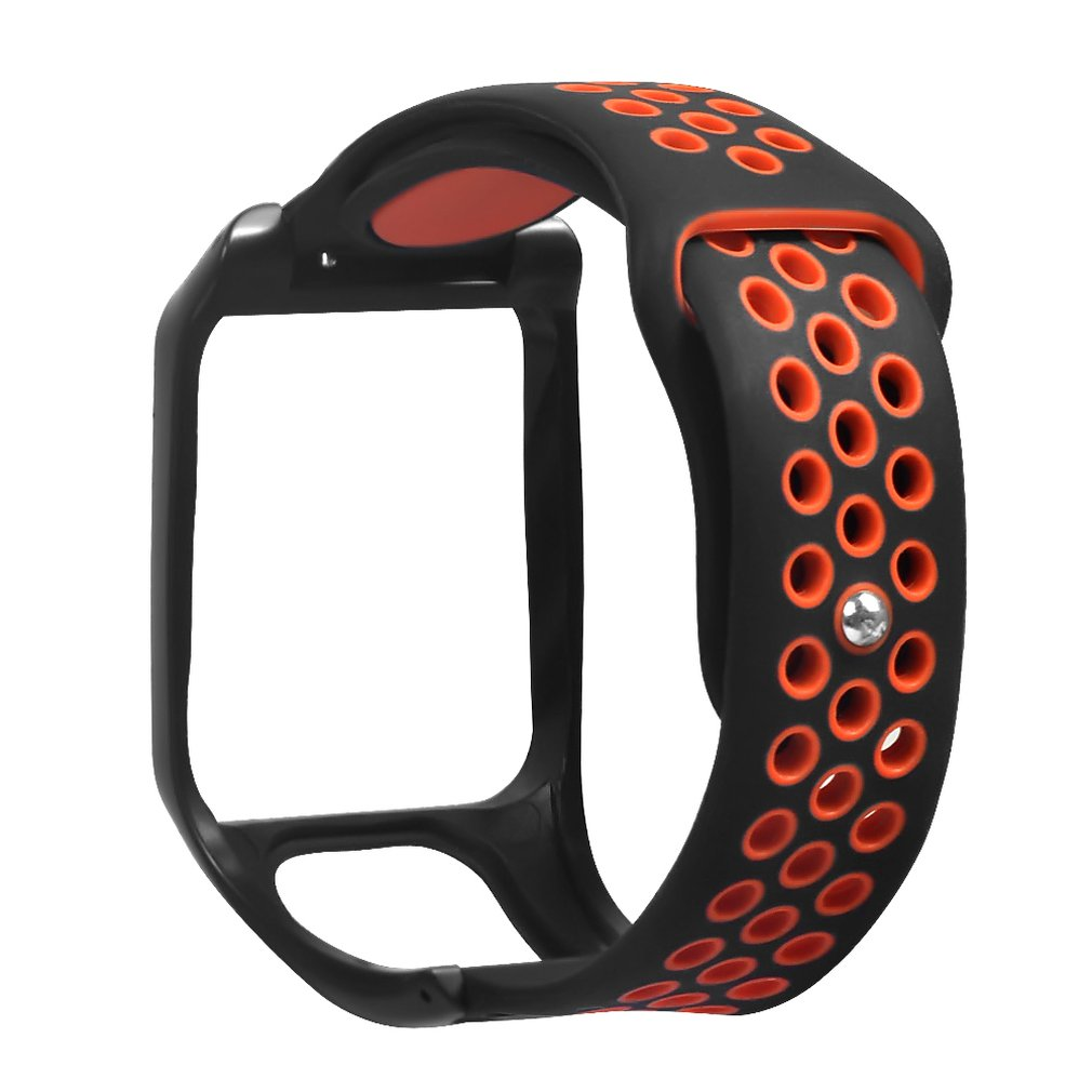For Tomtom Runner3 For Tomtom Adventurer Two-Color Stomata Reverse Buckle Strap Professional Sleek Minimalist Design 2019