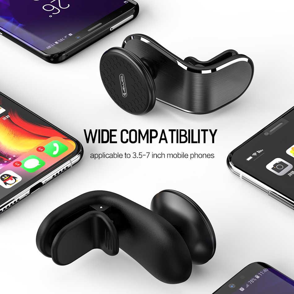 Jellico Universal Magneticโทรศัพท์ผู้ถือขาตั้งรถสำหรับiPhone Samsungแม่เหล็กVent Vent Airโทรศัพท์มือถือสนับสนุนGPS