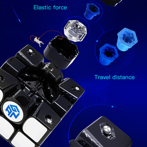 Image 5 - GAN356X S Magnetic Magic Speed Gan Cube Professional Stickerless GAN356XSแม่เหล็กก้อนGAN356 X S 3X3ปริศนาลูกบาศก์Gans
