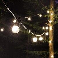 DCOO G50 Globe Outdoor String Light 10/20LED Bulb Festoon Fairy Lights IP68 Waterproof Garden Patio Wedding Christmas Decoration