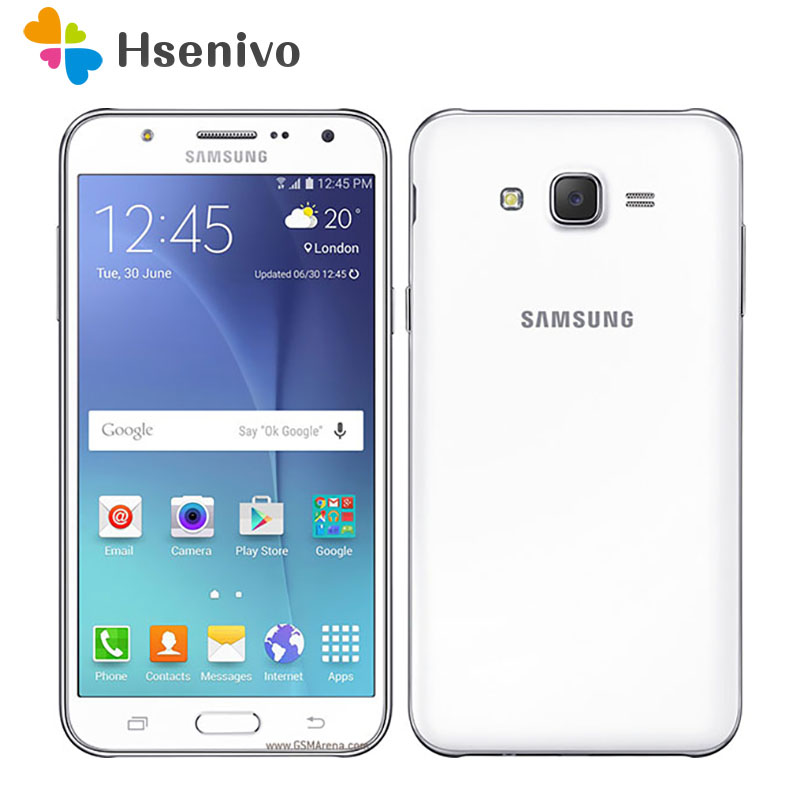Free shipping Samsung Galaxy J5 J500F Dual Sim Unlocked Cell Phone 5.0  LCD screen Quad core 1.5GB RAM 16GB ROM Refurbished image