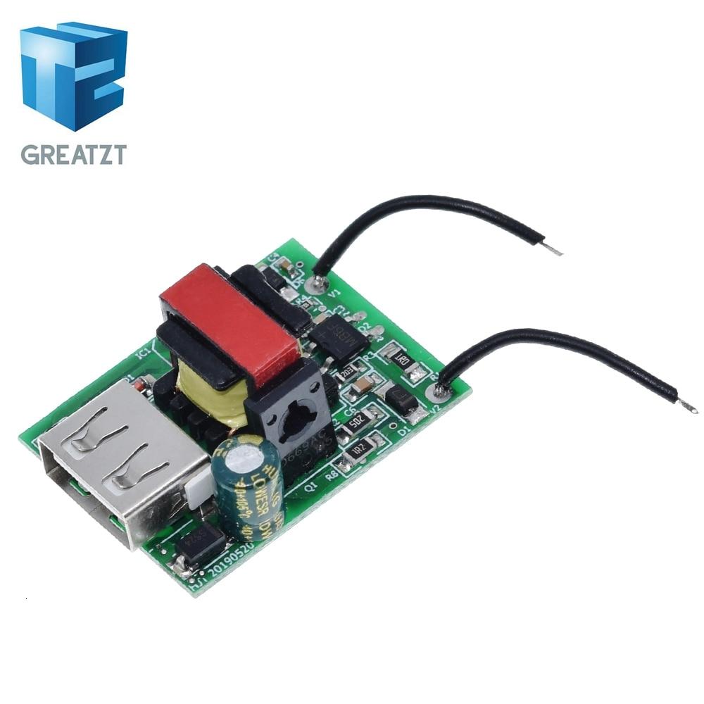 GREATZT USB DC Step Down Module Isolated Power Supply Buck Converter Stabilizer 12V 24V 36V 48V 72V to 5V 1A